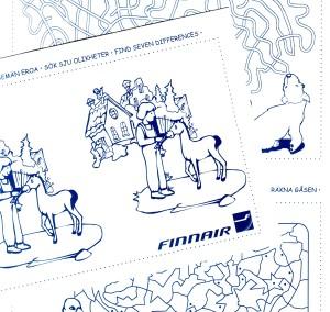 Puuhavihkoja Finnairille